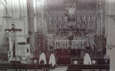 1909 Eucharistic Devotion in our Church