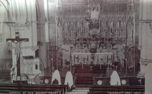 1909 Eucharistic Devotion in our Church