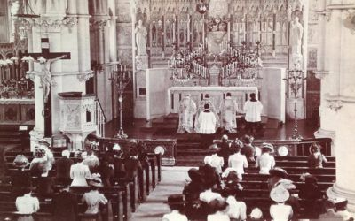 Solemn Benediction at the Sacred Heart