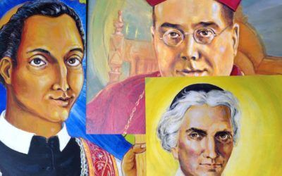 Oratorian Saints – Stunning Original Paintings by Br Francisco