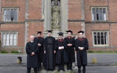 Graduations at St Mary's College Oscott
