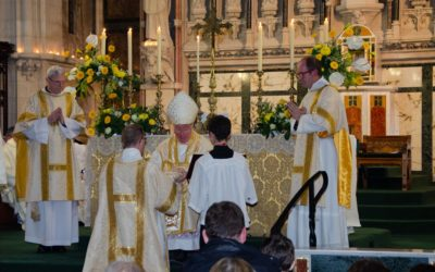 Br Andrew Ordained a Deacon