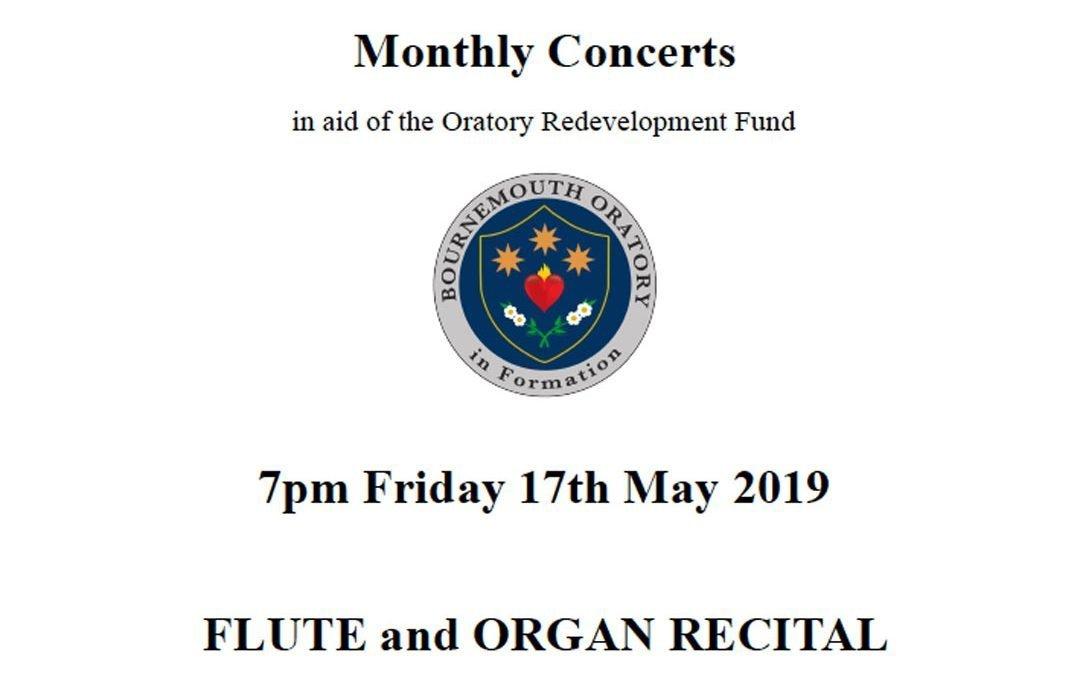 Flute and Organ Recital 17MAY19