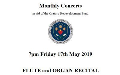 Flute and Organ Recital 17MAY19