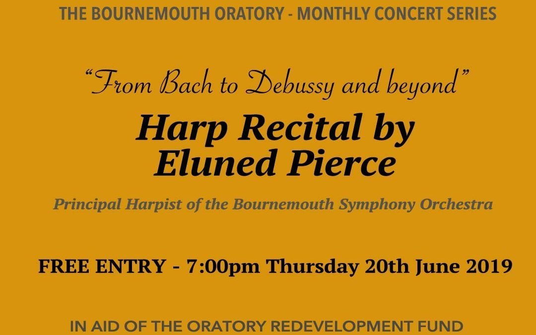 Harp Recital 20th June 2019