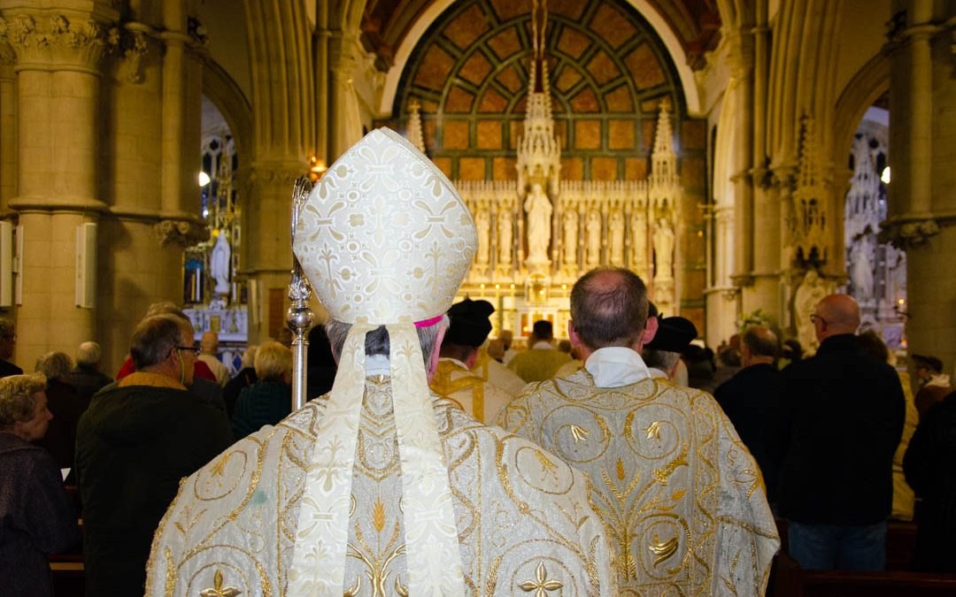 Bishop Philip Celebrates Newman Thanksgiving Mass