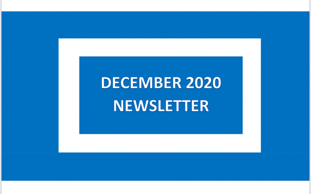 Our December 2020 Newsletter is Available to View Now