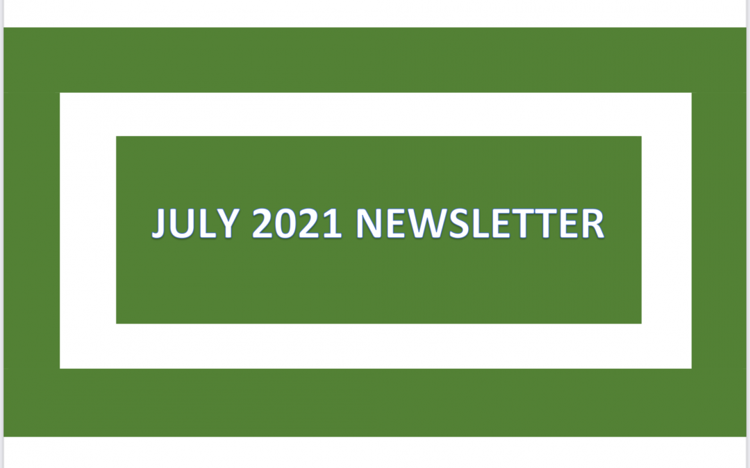 Our July Newsletter is available to view now