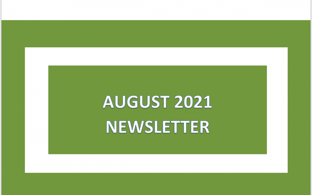 Our August Newsletter is available to view now