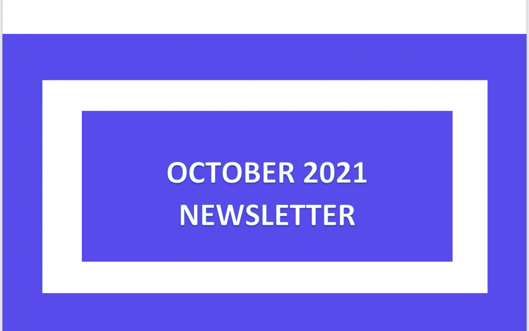 Our October Newsletter is available to view now